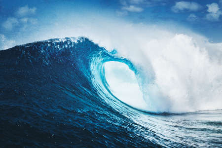 Blue Ocean Wave Epic Surf