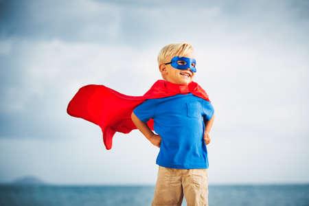 Foto de Super Hero Kid - Imagen libre de derechos