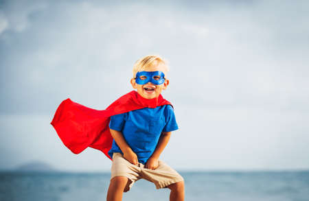 Photo pour Super Hero Kid - image libre de droit