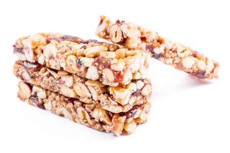 Photo for nuts granola bars - Royalty Free Image