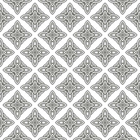 Illustration for Seamless Lace Geometric Background. Texture For Wallpaper, Invitation. Vector Illustration - Royalty Free Image