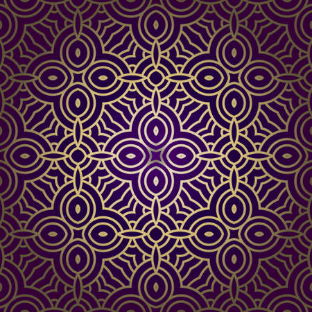 Illustration for Geometric Pattern. Seamless Texture Color Background. Element For Design. Vector Illustration. - Royalty Free Image