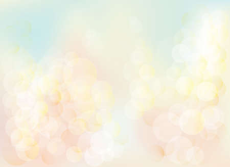 Photo for Blurred bokeh pastel lights background Abstract background with pastel colors bokeh. The esp file contains gradient mesh. - Royalty Free Image