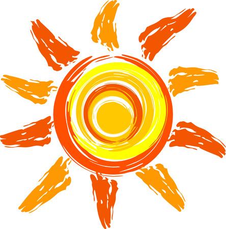 Ilustración de sun - Imagen libre de derechos