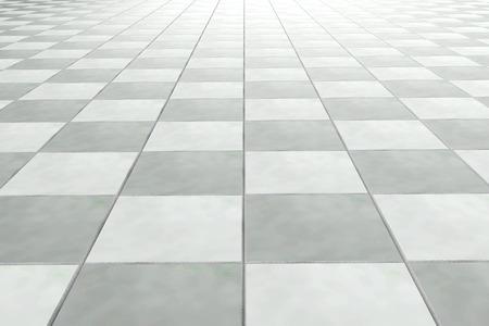 Photo pour 3d rendering of a bath tiles wall - image libre de droit