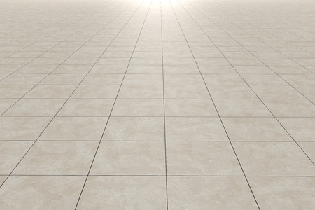 Photo for 3d rendering of a square tiles floor - Royalty Free Image