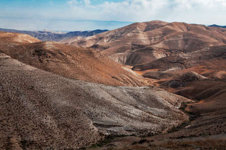 Photo for Sands of Judean Desert (Israel), from a hill near Beit El - Royalty Free Image