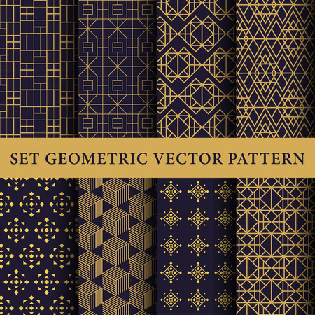 Illustration pour Luxury patterns pack - image libre de droit