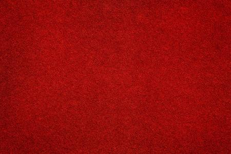 Photo pour Red felt surface close up. Abstract texture and background - image libre de droit