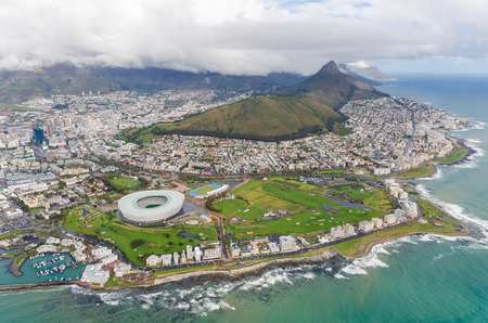 Photo for Aerial view of Cape Town  South Africa - Royalty Free Image