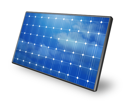 Photo for solar panels - Royalty Free Image