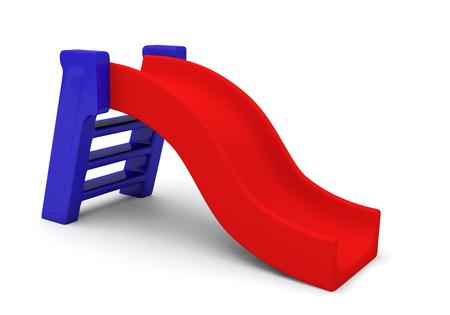 Photo pour slide playground park children play 3D - image libre de droit