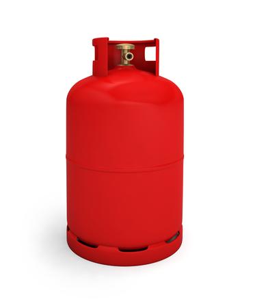 Foto de gas cylinder bottle tank propane butane - Imagen libre de derechos