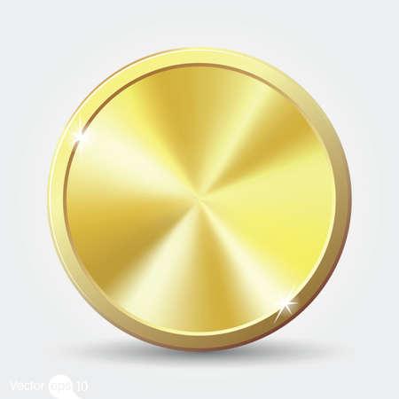 Ilustración de gold coin - Imagen libre de derechos