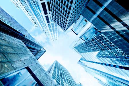 Foto de Skyscrapers shot with perspective - Imagen libre de derechos