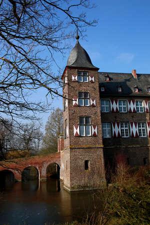 Photo pour Kuehlseggen Castle Weilerswist, North Rhine-Westphalia, Germany - image libre de droit