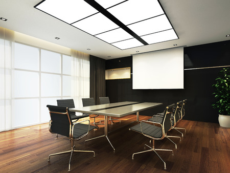 Photo for 3D Office meeting room - Royalty Free Image