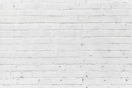 Foto de White brick wall. Seamless photo background texture - Imagen libre de derechos