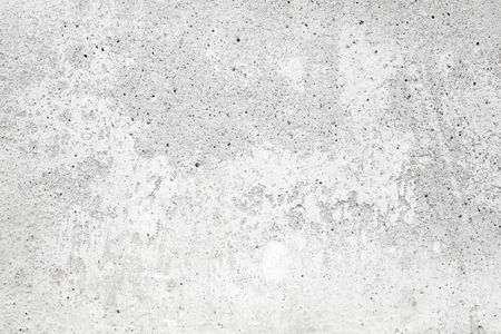 Foto de White concrete wall with stucco and paint, background texture - Imagen libre de derechos