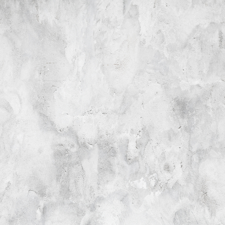 Photo for White concrete wall with plaster, square background photo texture - Royalty Free Image