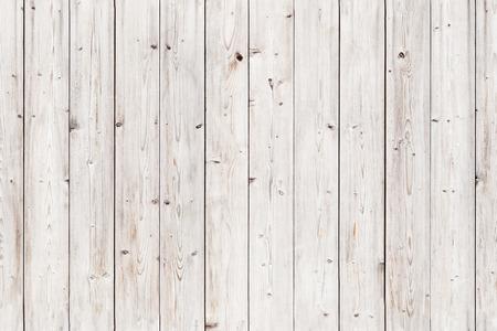 Foto de Old white wooden wall. Seamless background photo texture - Imagen libre de derechos