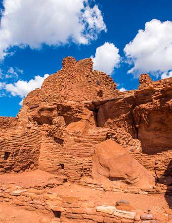 Photo pour Wupatki National Monument in Arizona. - image libre de droit