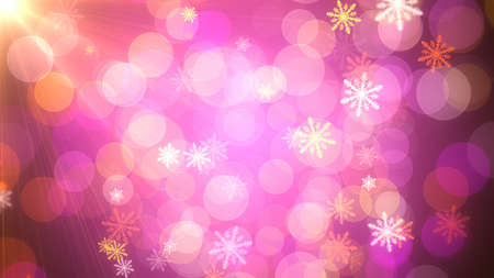 Foto de Background of Christmas Snowflakes which can be useful for Christmas,Holidays and New Year designs and presentation.  seamlessly loop-able Background animation. - Imagen libre de derechos
