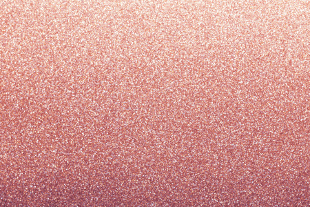 Photo pour Rose gold glitter background, shiny wrapping paper defocused - image libre de droit
