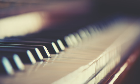 Photo for keyboard piano - Royalty Free Image