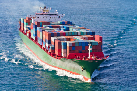 Foto per Container Ship - Immagine Royalty Free