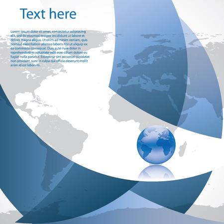 Foto de Vector Brochure Layout Design Template business - Imagen libre de derechos
