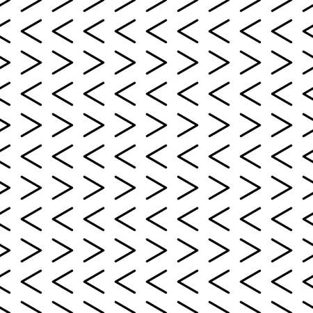 Illustration pour Seamless pattern with arrows motif. Minimalist abstract background. Simple modern print with pointers. Vector eps10 - image libre de droit