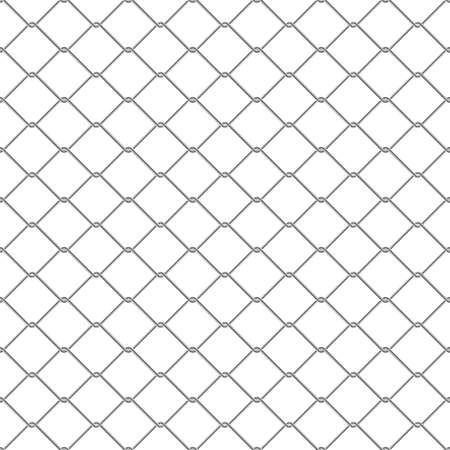 Repeating chain link fence. Tileable vector wallpaper that repeats left right up and down mural