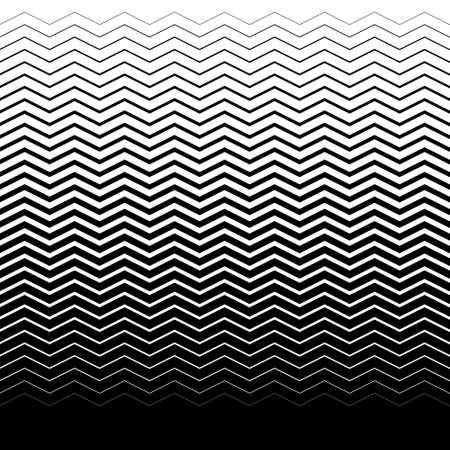 Ilustración de gradient seamless background with black waves - Imagen libre de derechos