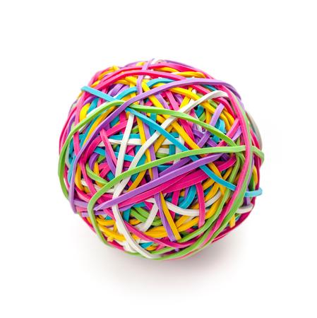 Photo pour Rubber band ball - image libre de droit
