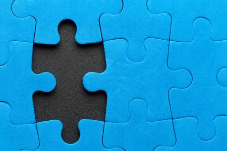 Photo pour Missing puzzle piece - image libre de droit