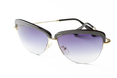 Photo pour Fashion sunglasses isolated on white - image libre de droit