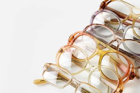 Foto de eyeglasses isolated on white - Imagen libre de derechos