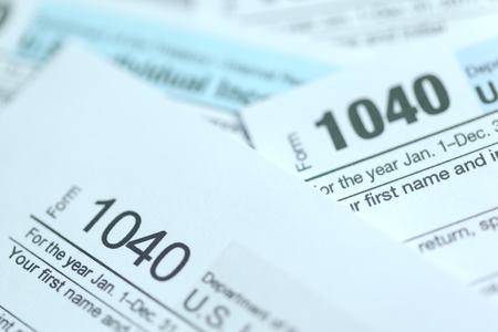 Photo pour Tax Time. Concept Image. - image libre de droit