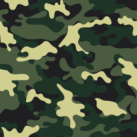 Illustration pour Army military camouflage seamless pattern.Can be used for background design, military textile. - image libre de droit