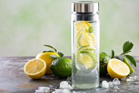 Photo for Infused detox water - Royalty Free Image