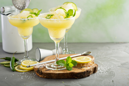 Photo for Refreshing summer margarita cocktail - Royalty Free Image