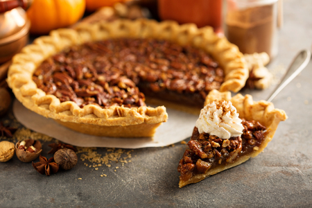 Photo for Traditional pecan pie - Royalty Free Image