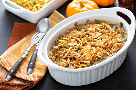 Photo for Green beans casserole - Royalty Free Image