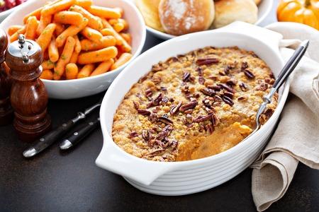 Photo for Sweet potato casserole - Royalty Free Image