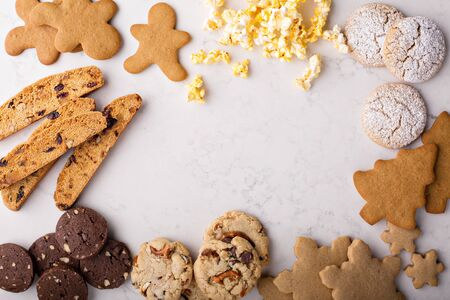 Photo for Variety of cookies for Christmas - Royalty Free Image