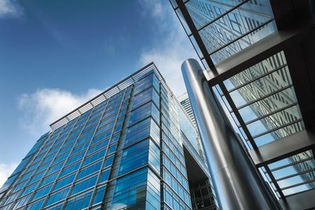 Foto de Business building in Canary Wharf - Imagen libre de derechos