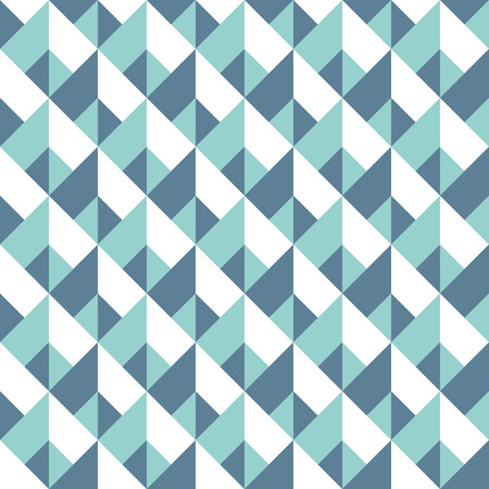 Illustration for Abstract seamless geometric pattern. Vector polygonal background. Chevron wallpaper or fabric texture - Royalty Free Image