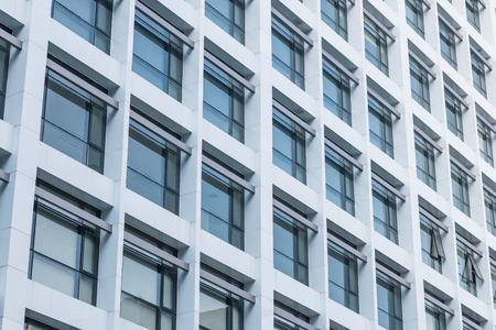 Photo pour Office building windows background - image libre de droit