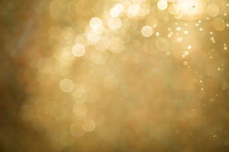Photo pour Abstract golden bokeh background - image libre de droit